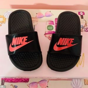 Girls Nike Slides